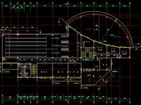 娱乐中心总体施工图