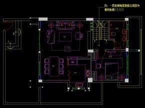 远大林语城A1户型施工图