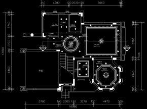 欧式别墅施工图