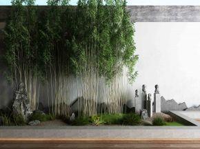 新中式庭院景观