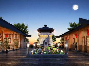新中式风格景观
