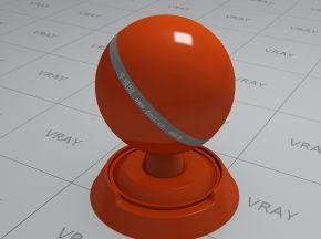 橙色车漆材质(2)