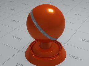 橙色车漆材质(5)