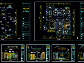 客餐厅空间-施工图