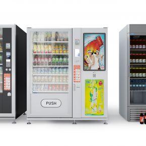冰柜饮料自动售卖机