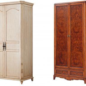 美式两门衣柜
