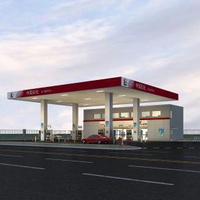 现代加油站