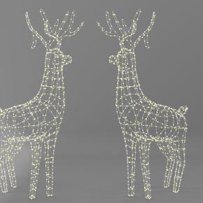 现代鹿装饰灯