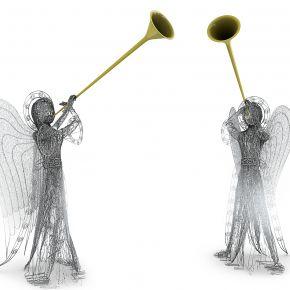 儿童天使装饰灯