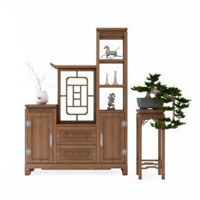 中式装饰柜