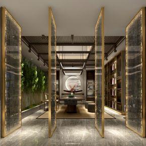 新中式风格茶馆