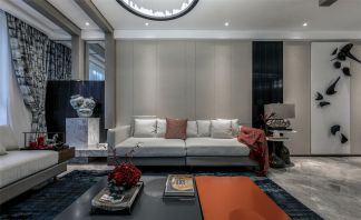 现代东方风格客厅