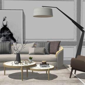 简欧式现代轻奢沙发