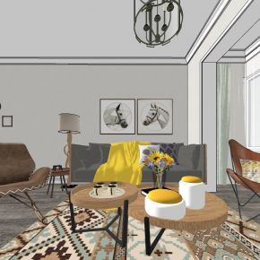 北欧现代客厅