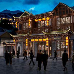 艾巴优-2020VIP学员投稿作品-中式酒店门头