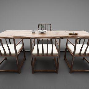 新中式风格茶桌320(2016)