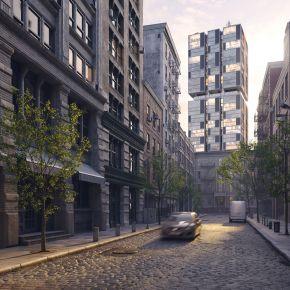 高品质城市建筑外部景观