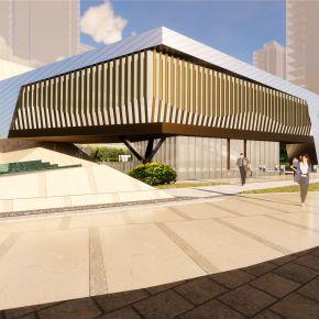 苏州海胥澜庭售楼处方案现代