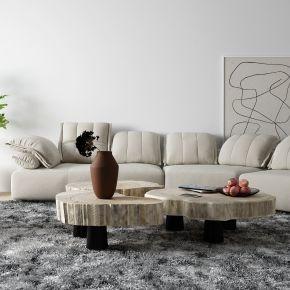 现代布艺沙发 转角沙发