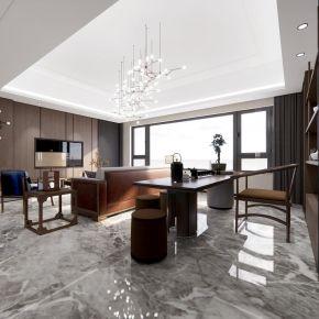 超精细现代家装客厅玄关设计