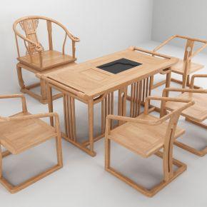 茶台,椅子